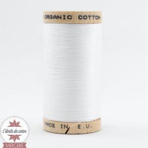 Fil 100% coton bio - blanc