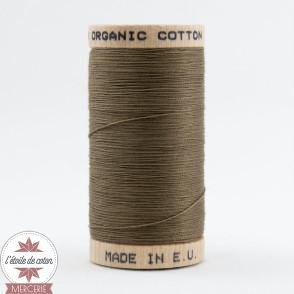 Fil 100% coton bio - terre