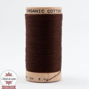 Fil 100% coton bio - chocolat