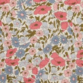 Tissu Liberty - Poppy & Daisy - collection 40 ans