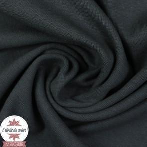 Bord-côte gris anthracite - Oeko-Tex