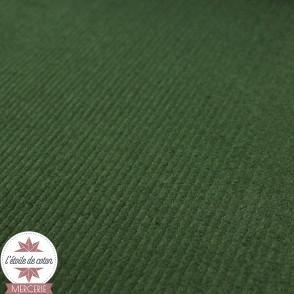 Velours grosses côtes stretch - vert
