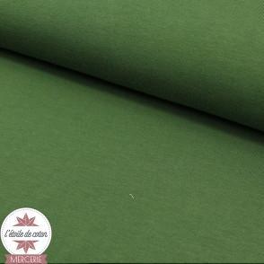 Jersey uni - vert forêt (Oeko-Tex)