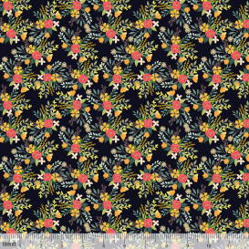 Amore Charcoal by Blend Fabrics
