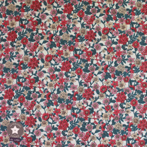 Tissu japonais Kokka - coton Flowers