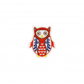 Motif thermocollant Hibou - Collection nordique