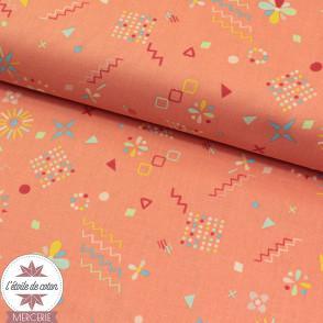 Tissu coton Carte au Trésor by RJR