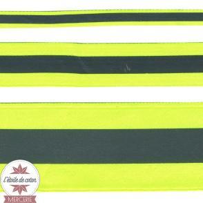 Ruban réfléchissant vert fluo - 2 tailles