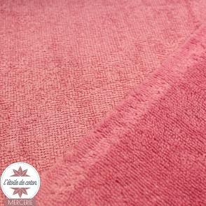 Tissu micro éponge de bambou rose orchidée (Oeko-Tex)