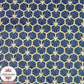 Coton enduit Riad - safran