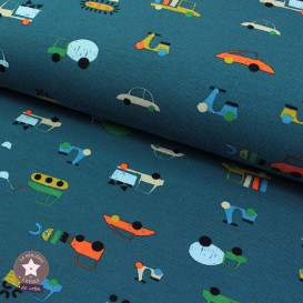 Jersey Bio by Poppy - Traffic - bleu canard
