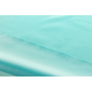 Tissu PUL interlock - turquoise (Oeko-Tex)