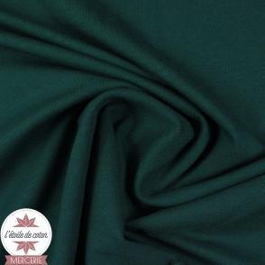 Jersey uni bio - vert épinard
