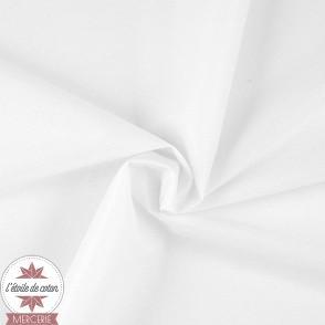 Tissu PUL uni blanc - Oeko-Tex