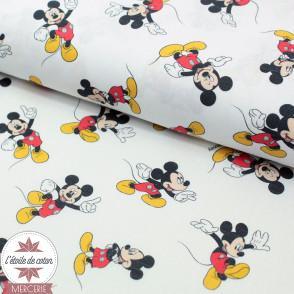 Popeline de coton Mickey- Oeko-Tex