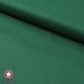 Tissu popeline de coton BIO - vert sapin