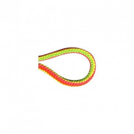 Cordon tricoté 4,5 mm - multicolore fluo