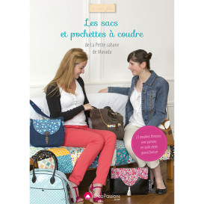 """Livre """"Les sacs et pochettes à coudre"""" - La Petite Cabane de Mavada"""