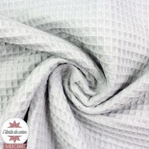 Tissu nid d'abeille rose (Oeko-Tex)
