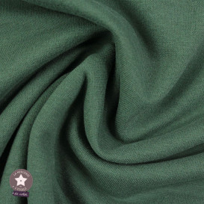 Sweat gratté BIO uni - vert thé - Oeko-Tex