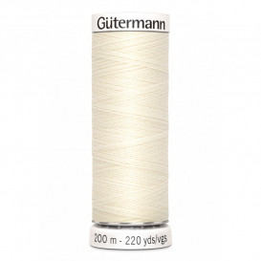 Fil Gütermann pour tout coudre 200 m - N°1