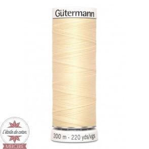 Fil Gütermann pour tout coudre 200 m - N°610