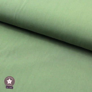 Tissu popeline de coton Oeko-Tex - Ocre