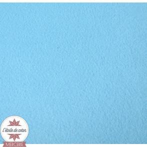 Feutrine bleu clair - 45 x 50 cm