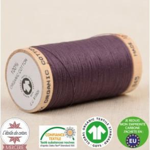 Fil 100% coton bio 275 m - rose poudré
