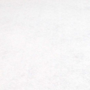 Coupon de feutrine blanc - 45 x 50 cm