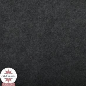 Feutrine gris chiné foncé - 45 x 50 cm