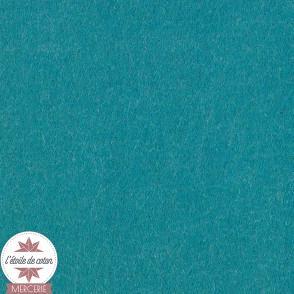 Feutrine bleu canard - 45 x 50 cm
