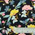 Tissu viscose floral Rosella by Penelope® - bleu marine