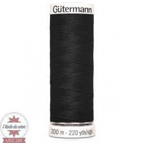 Fil Gütermann pour tout coudre 200 m - Noir N°000