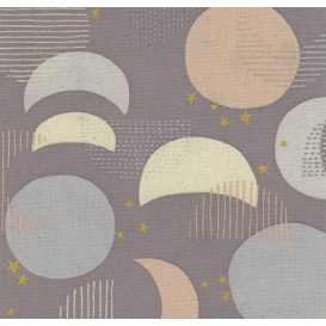 Tissu japonais Kokka - Caravan canard - toile canvas