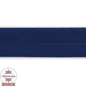 Biais jersey marine 20 mm