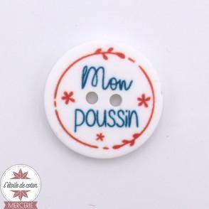 """Bouton message """"Mon p'tit mec"""" - 20 mm"""