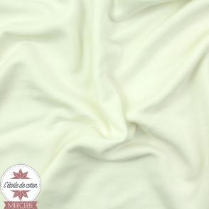 Jersey modal uni - ivoire - Oeko-Tex