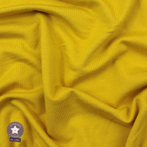 Jersey modal uni - jaune tournesol - Oeko-Tex