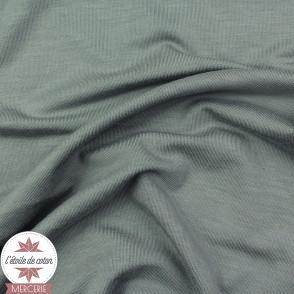 Jersey modal uni - gris - Oeko-Tex