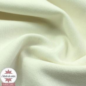 Tissu molleton coton bio - grande largeur