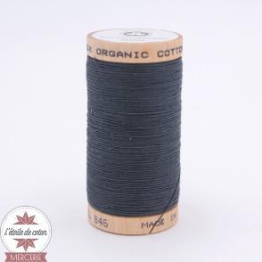 Fil 100% coton bio 275 m - gris bleu