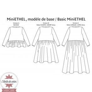 Patron P&M - Robe MiniETHEL (enfant)
