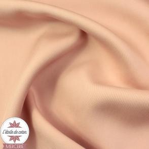 Tissu tencel - rose nude