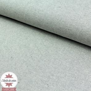 Tissu dobby - gris