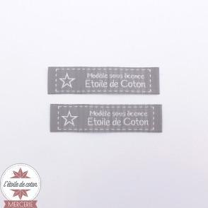 Licence étiquettes à coudre (lot de 10 étiquettes)