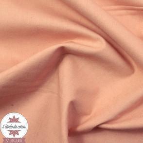 Popeline biologique à teinture végétale - Betal Pink