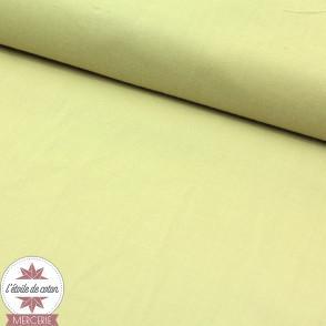 Popeline biologique à teinture végétale - Dahlia Green