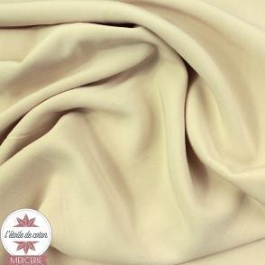 Tissu viscose uni - rose nude - Oeko-Tex