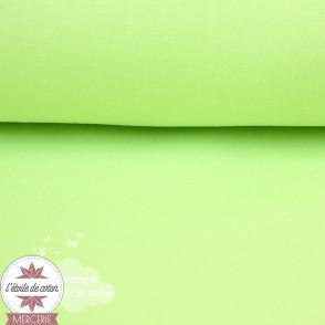 Tissu coton anis - Oeko-Tex